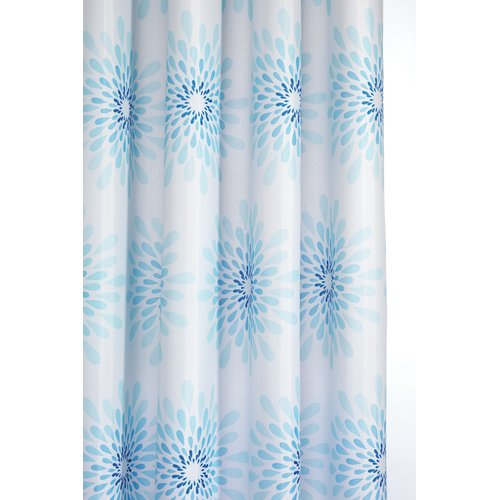 Highland Dunes Altieri Splash Textile Shower Curtain by