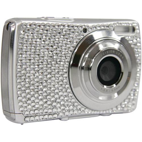 """Cobra Digital DCAV527 Diamond 12MP Digital Camera, 2.4"""" LCD Display"""