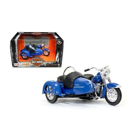 MAISTO MOTORCYCLES 1:18 HARLEY-DAVIDSON CUSTOM 1952 FL HYDRA GLIDE WITH SIDECAR 03175