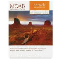 Legion Moab Entrada Digital Rag Paper - 5'' x 7'', Bright White, 300 gsm, Pkg of 25