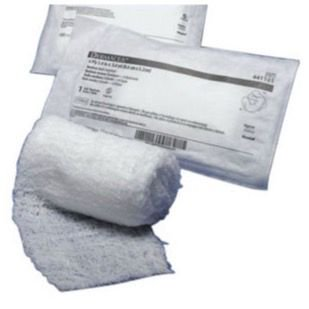 Fluff Roll (Kendall Dermacea Non-Sterile Gauze Fluff Roll 4.5 Inch x 4.1 Yards, Non-Sterile, Case of 100 )