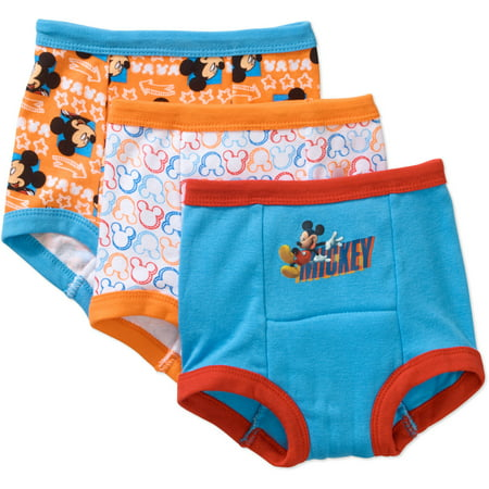 Full Training Pant (Mickey Mouse Potty Training Pants Underwear, 3-Pack (Toddler Boys))
