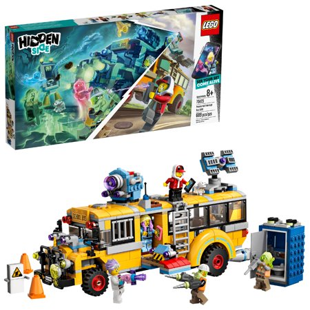 LEGO Hidden Side Paranormal Intercept Bus 3000 Augmented Reality (AR) Building Kit 70423