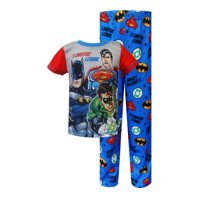 Justice League Green Lantern Batman Superman Toddler Pajama