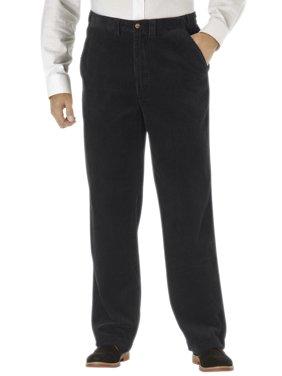 Kingsize Men's Big & Tall Six-wale Corduroy Plain Front Pants Casual Pants