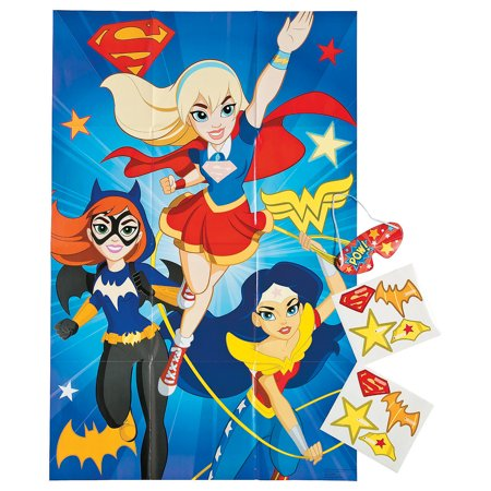 Dc Superhero Girls Party Game for Birthday - Party Supplies - Licensed Tableware - Misc Licensed Tableware - Birthday - 4