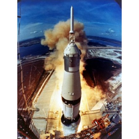 (27x40) Apollo 11 Launch Poster