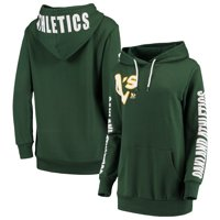 Oakland Athletics G-III 4Her by Carl Banks Women's 12th Inning Pullover Hoodie - Green