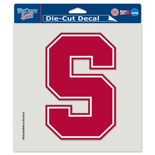 """Wincraft NCAA Stanford University Perfect Cut Color Decal, 8"""" x 8"""""""