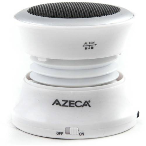 Azeca Mini Pop-Up Bluetooth Speaker with Carry Bag