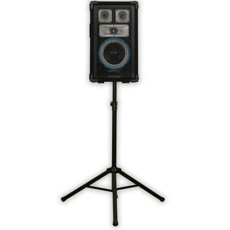 Technical Pro VRTX8 Passive PA DJ Speaker and Stand 600 Watts Karaoke Studio Band VRTX8ST