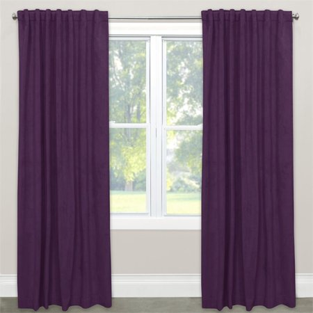 Skyline 108  Blackout Window Curtain Panel In Velvet Aubergine