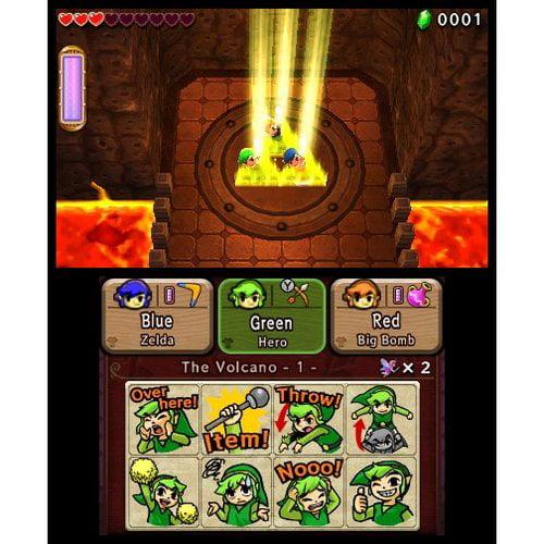 Videojuego Para Nintendo 3ds The Legend Zelda: Tri Force Heroes for Nintendo 3DS + Nintendo en VeoyCompro.net