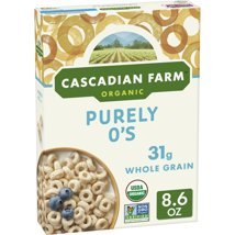 Breakfast Cereal: Cascadian Farms Purely O's