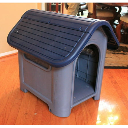 - New Outdoor Dog House Small to Medium Pet All Weather Doghouse Puppy Shelter NIB
