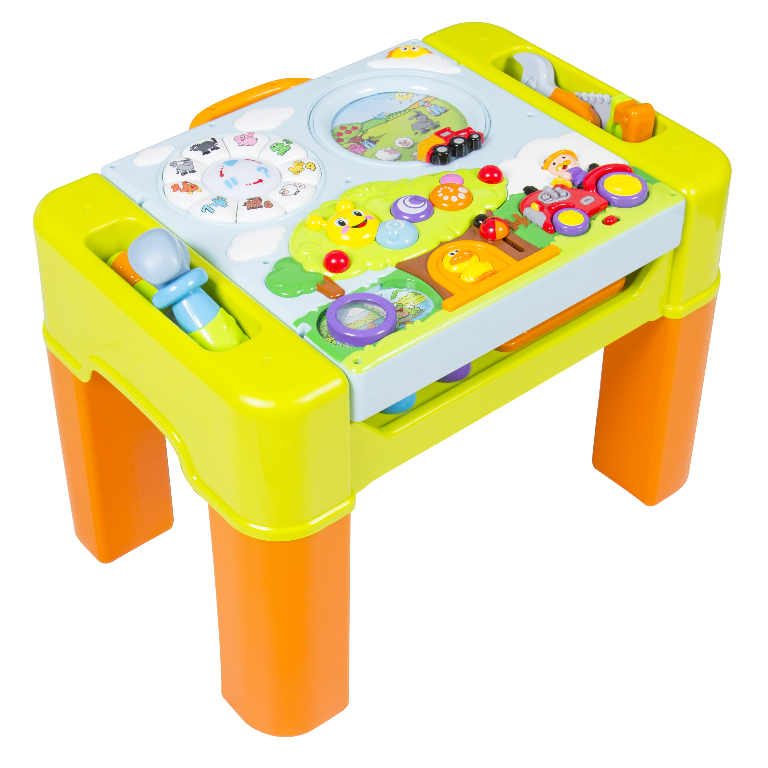 kids learning activity table with quiz music lights shapes  - kids learning activity table with quiz music lights shapes tools andmore  walmartcom