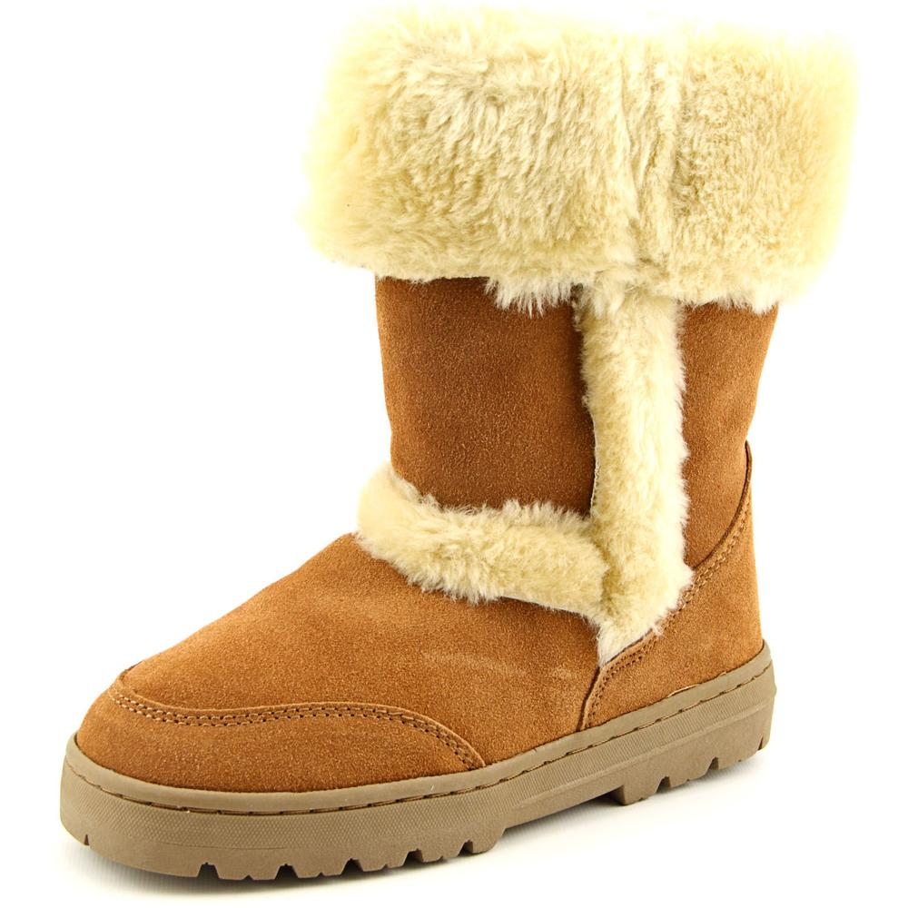 Style & Co Witty Women  Round Toe Suede Tan Winter Boot