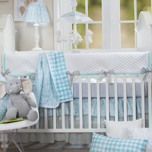 Harriet Bee Rollins 3 Piece Crib Bedding Set: Harriet Bee Stelly 4 Piece Crib Bedding Set