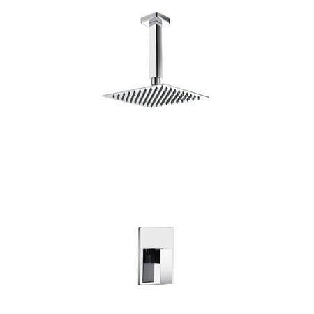 Kube Bath Aqua Piazza Volume Control Shower Faucet With Valve