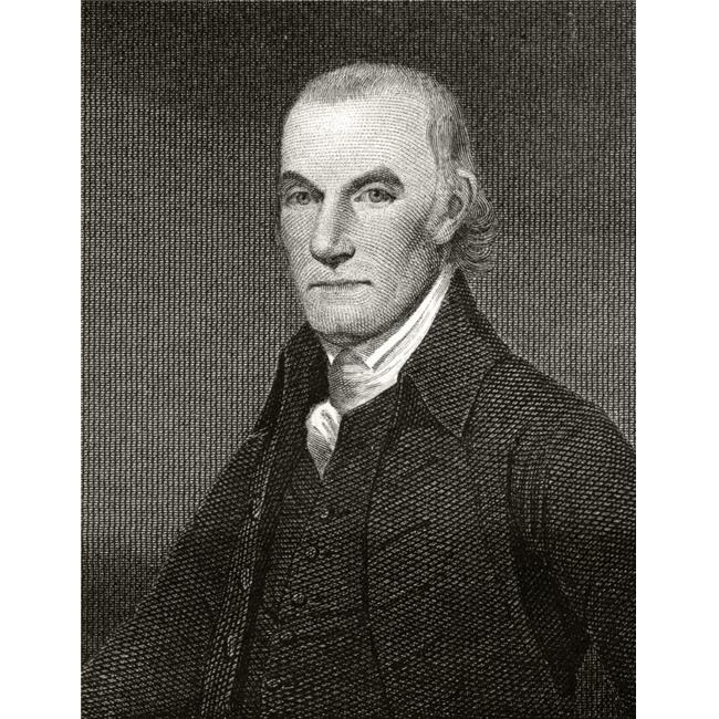 William Floyd 1734 To 1821 American Statesman & Founding Father A Signatory of Declaration of Independence 19th Century Engraving by A.B. Durand From A Painting Poster Print, 12 x 16 - image 1 of 1