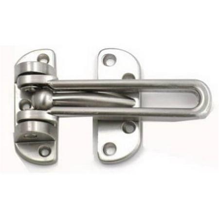 1875-SN Satin Nickel Door Guard Nickel Door Guard