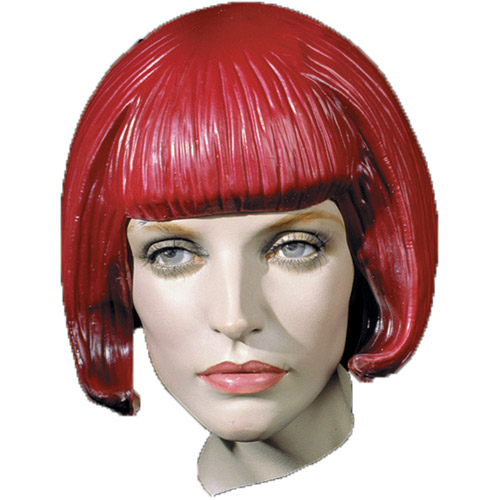 Beebop Latex Rubber Wig Halloween Accessory