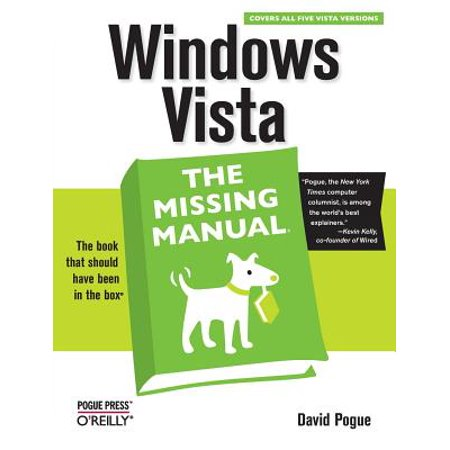 Windows Vista: The Missing Manual (Installing Windows 7 On Top Of Vista)