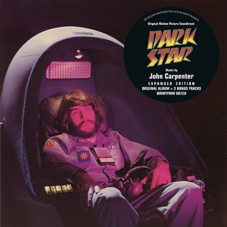 Dark Star Soundtrack (CD) - Halloween Carpenter Soundtrack
