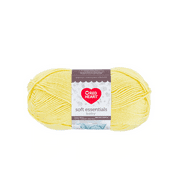 Red Heart Soft Essentials Baby Lemonade Knitting & Crochet Yarn