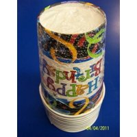 Lets Celebrate Birthday Party 9 oz. Paper Cups