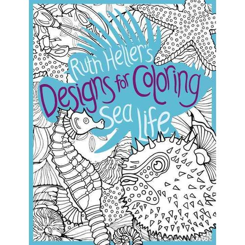 Sea Life Coloring Book
