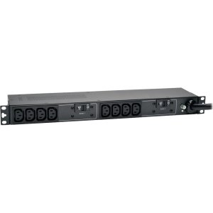 Tripp Lite PDU Basic 208V / 240V 30A C13 10 Outlet L6-30P Horizontal 1U - NEMA L6-30P - 10 x IEC 60320 C13 - 230 V AC - 5.80 kVA - 1U Horizontal Rackmount, Wall Mountable, Under-counter 10 C13 NE