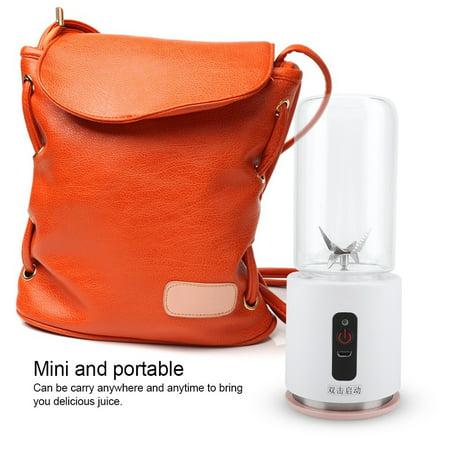 Ejoyous 260ML Portable USB Rechargeable Juicer Extractor Blender for Juice Milkshake 7.4V  ,Juicer, Blender for Juice Milkshake - image 5 de 13