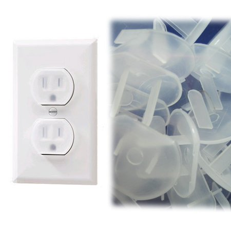 24pc Pk Power Outlet Socket Safety Cover For Babies Kids