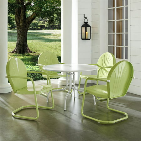 Crosley Furniture Griffith Outdoor Patio Dining Set, Multiple Colors ()