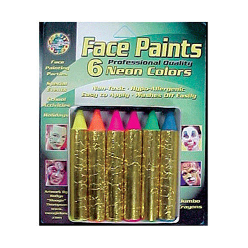 Crafty Dab Crafty Dab Jumbo Crayon Face Paints (Set of 2)