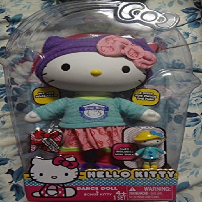 Hello Kitty Doll and Bonus Kitty 4+ 1 Set (Dance)