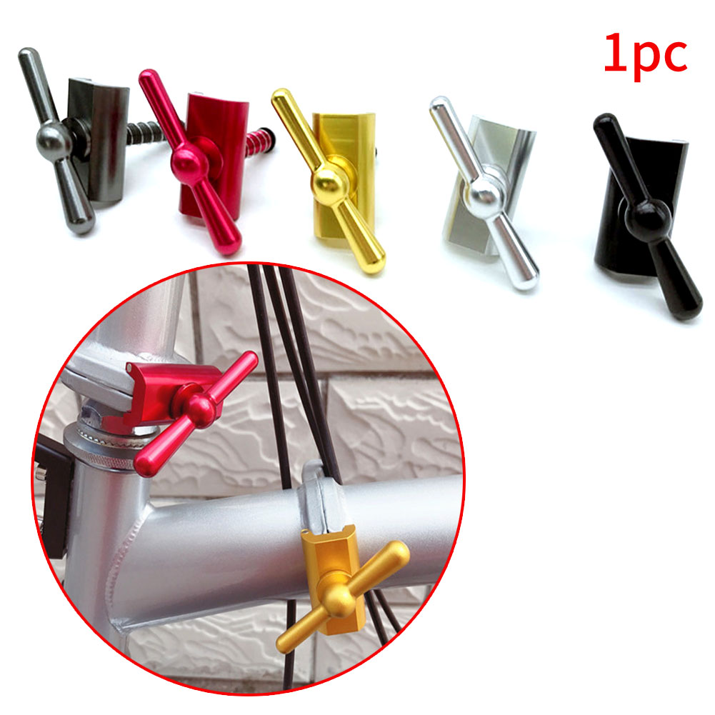 Details about  /Folding Bicycle Buckle Outdoor Bike C-Brompton Magnetic Hinge Clip