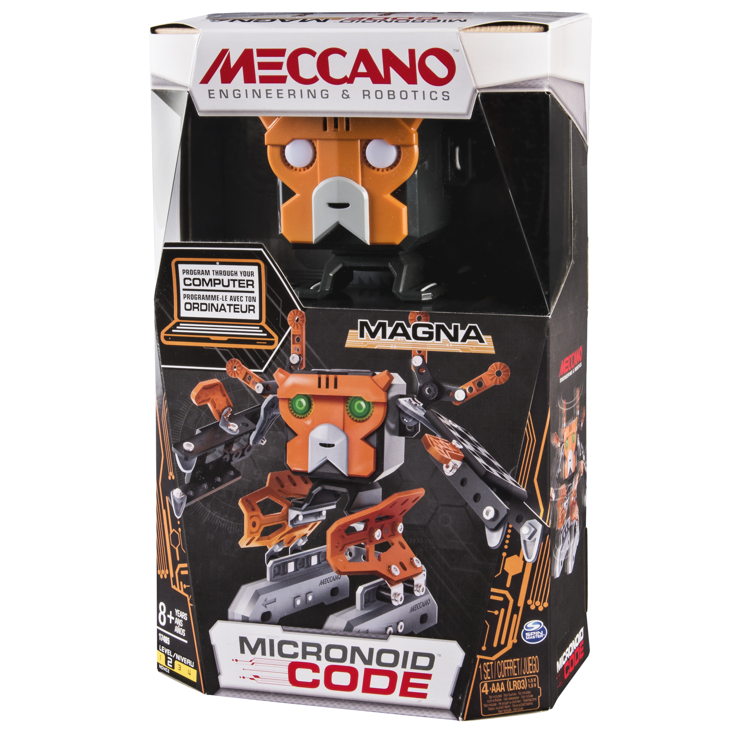 Meccano45erector 45 Micronoid Code Magna Programmable Robot Control Your Meccano Models Or Anything Else From Windows Pc Building Kit