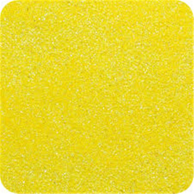 Classic Colored Sand 14 oz. Bottle - Shake & Pour Lid - Yellow