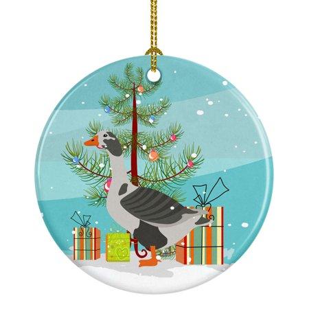 West of England Goose Christmas Ceramic Ornament - Walmart.com