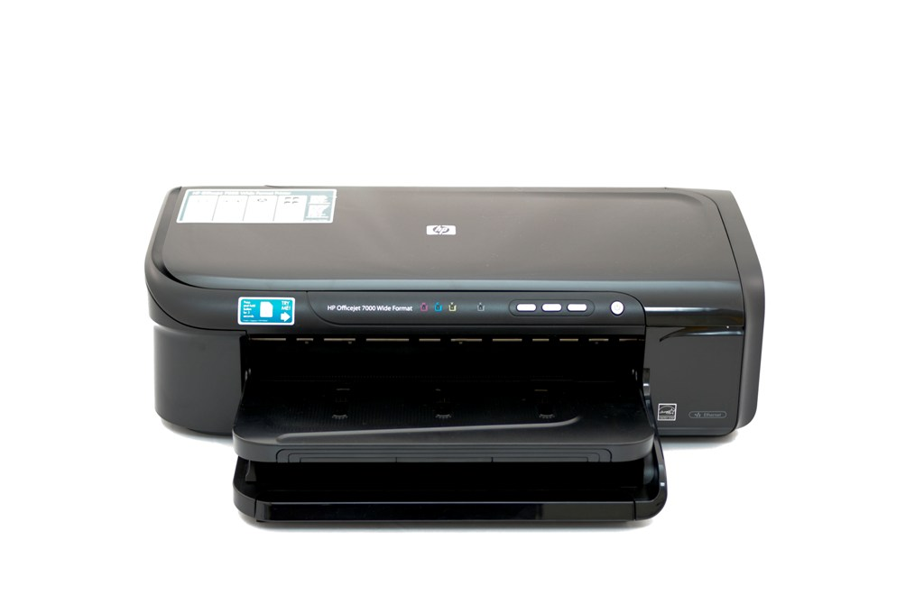 Refurbished HP Officejet 7000 Wide Format E809a Color Inkjet Printer by HP