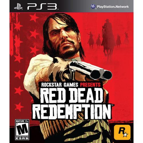 Red Dead Redemption, Rockstar Games, PlayStation 3, 710425375736