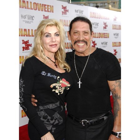 Debbie Trejo Danny Trejo At Arrivals For Premiere Of Rob ZombieS Halloween GraumanS Chinese Theatre Los Angeles Ca August 23 2007 Photo By Michael GermanaEverett Collection Celebrity - Danny Trejo Halloween