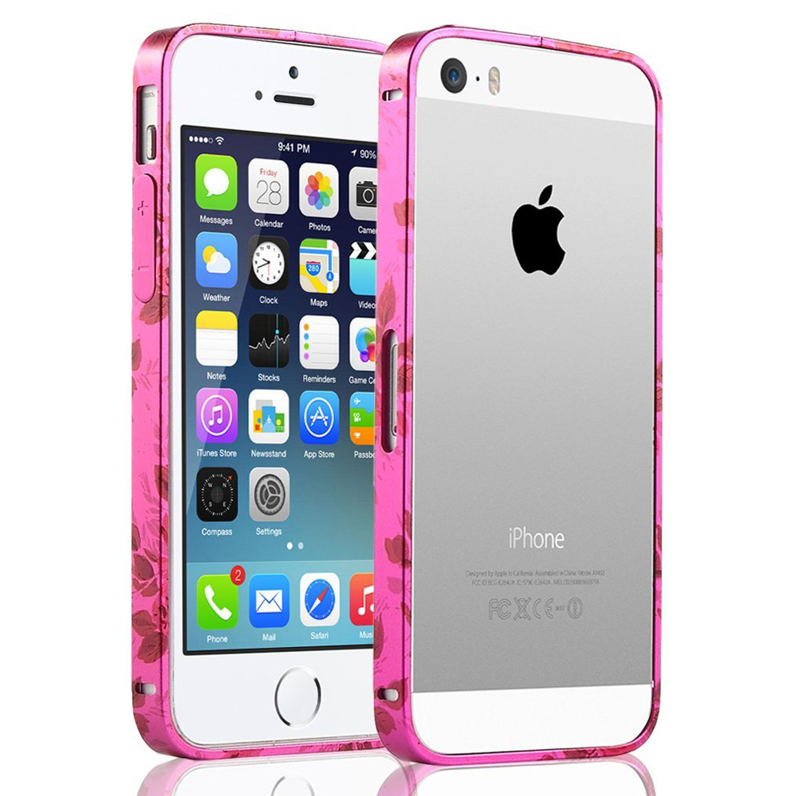 Ulak Iphone 5s Case Iphone 5 Case Bumper Case For Apple Iphone 5 5s