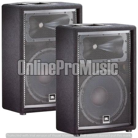 JBL JRX212 12' Passive Two-Way Stage Monitor Speaker Pair PA (Jbl Jrx112m 12 2 Way Stage Monitor)