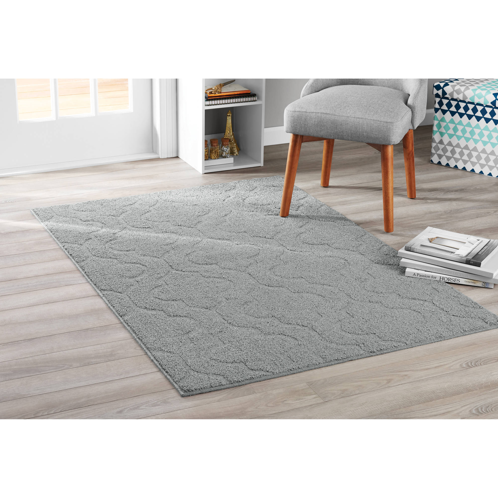 Mainstays Double Quatrefoil Area Rug