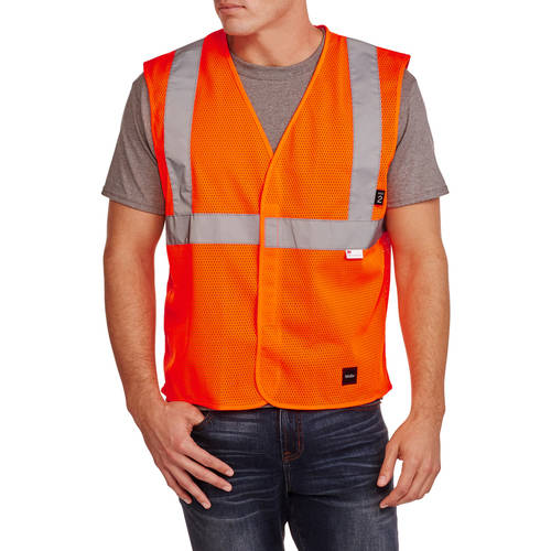Big Men's ANSI 2 High Visibility Mesh Safety Vest