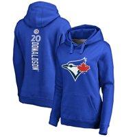 Product Image Josh Donaldson Toronto Blue Jays Fanatics Branded Women s  Backer Pullover Hoodie - Royal d24b4066e