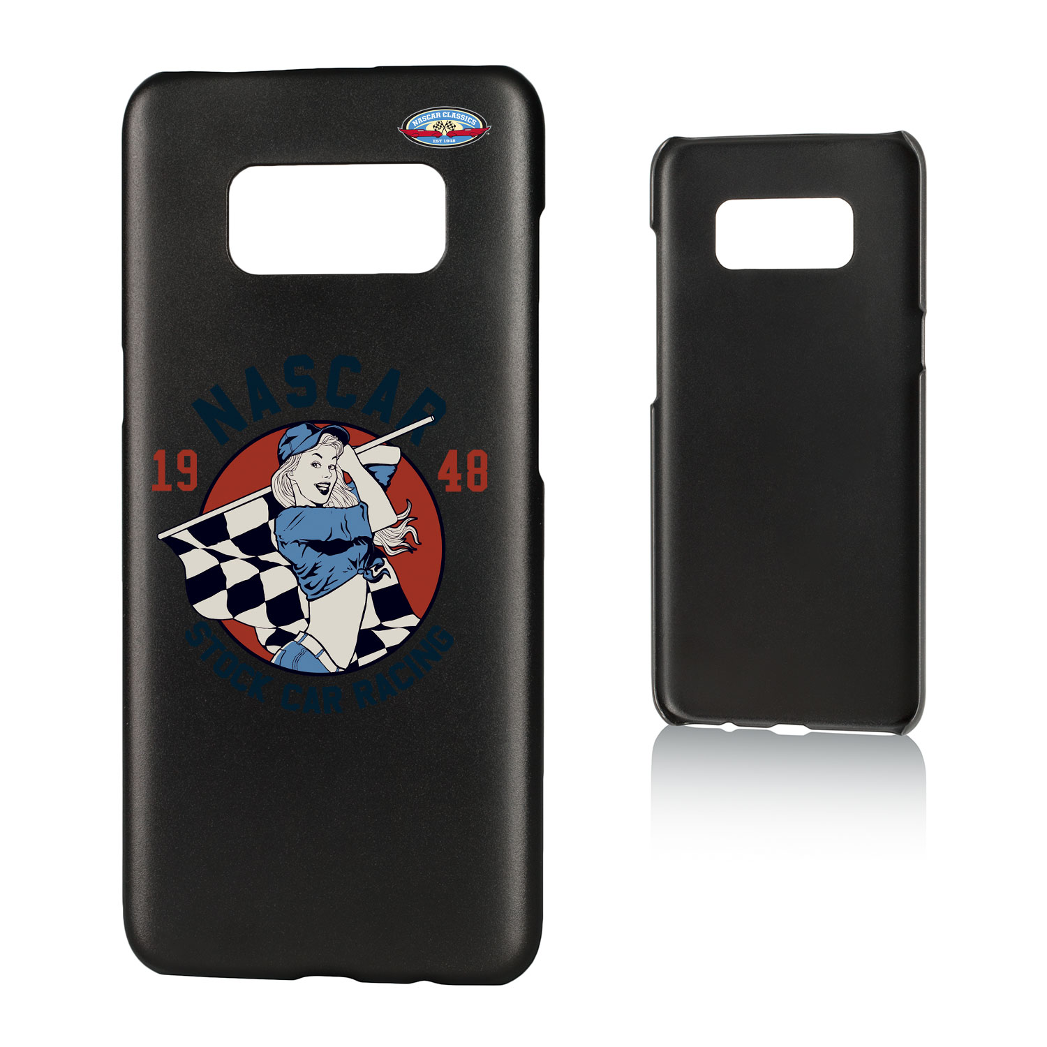 NASCAR 1948 Stock Car Racing Insignia Slim Case for Galaxy S8
